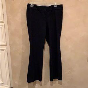 Navy Loft pants, size 6P